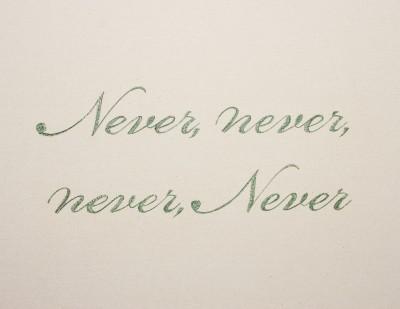 Never Never Never Never