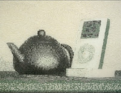 Yixing Teapot and iPod